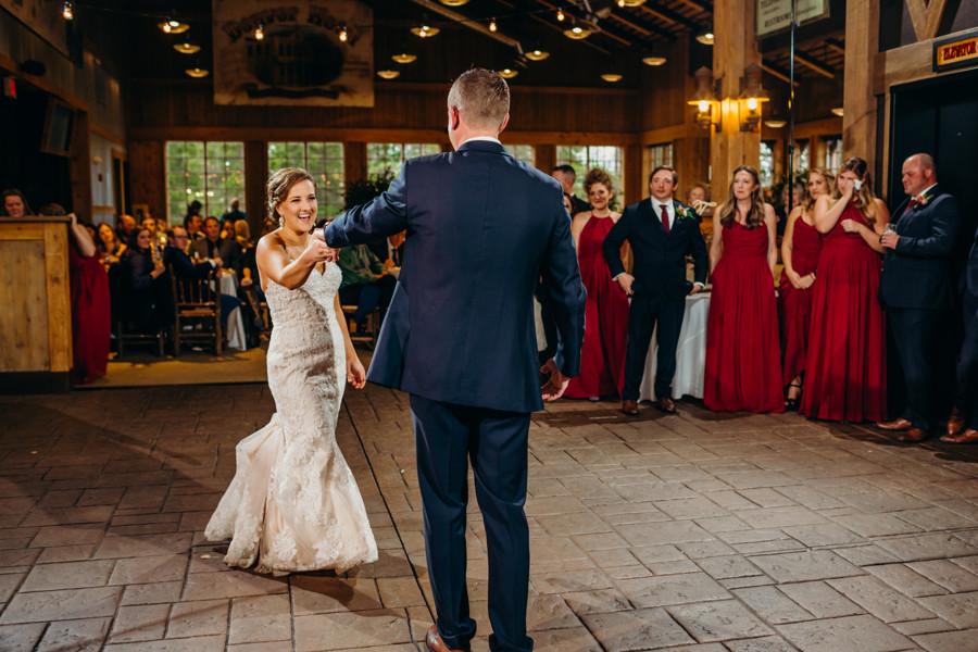Breckenridge Wedding - Ten Mile Station Wedding - First Dance