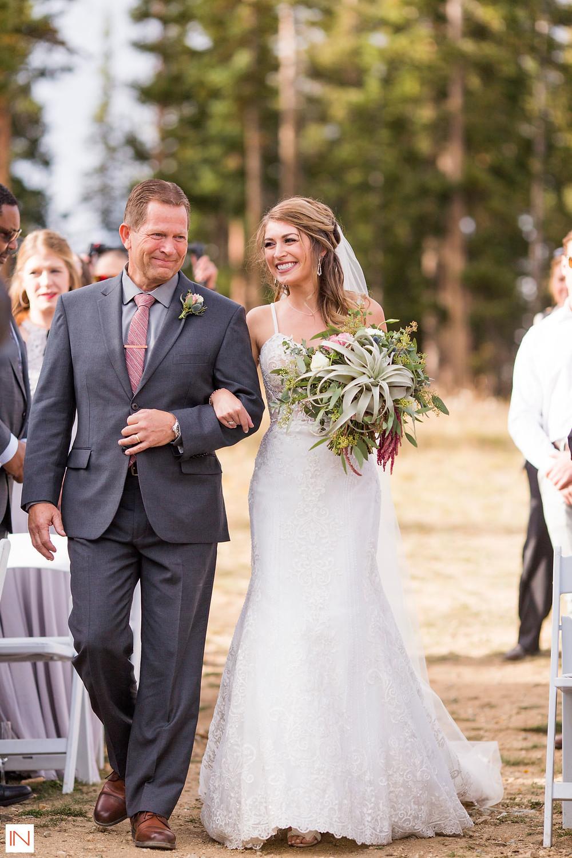 Breckenridge Wedding - Father Daughter
