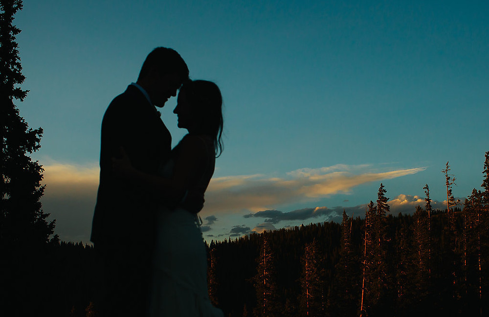 Colorado Wedding Planner - Colorado Wedding Couple Married