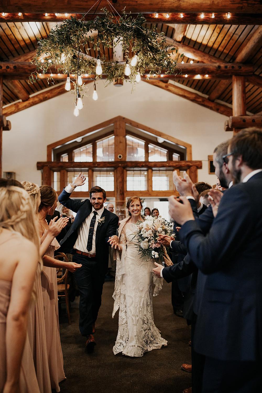 Keystone Wedding Planner - Timber Ridge Wedding - Grand Entrance