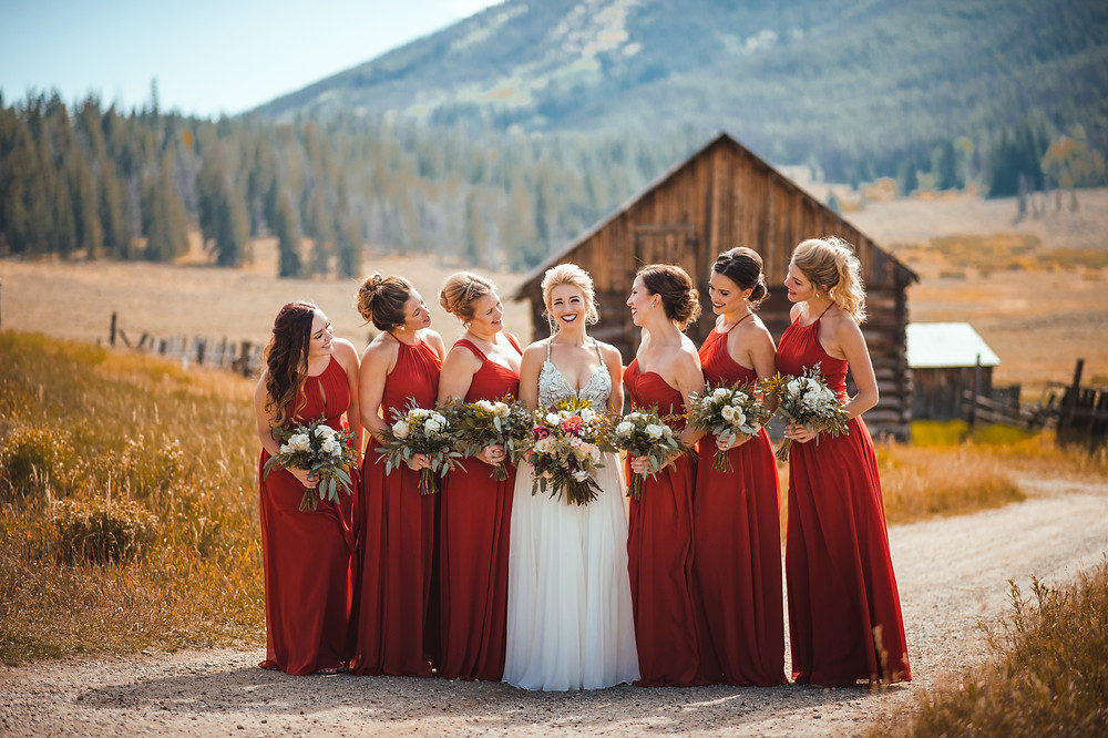 Keystone Wedding Planner - Bride and Bridesmaids