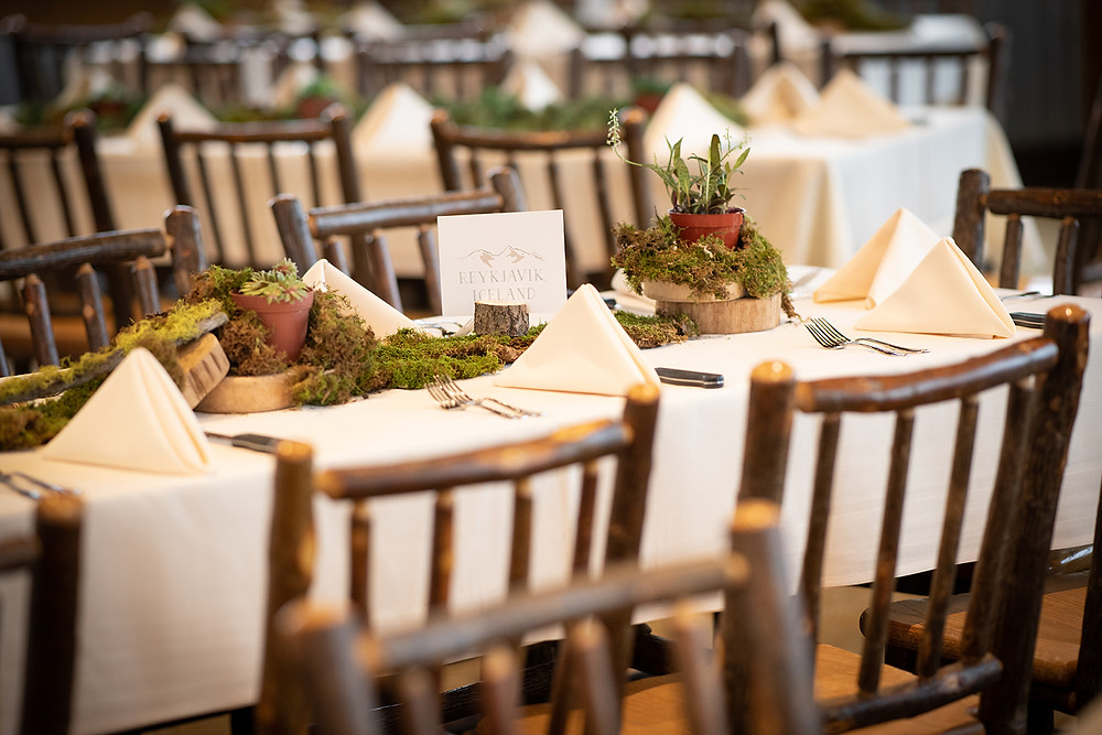 Breckenridge Wedding Planner - Ten Mile Station Wedding - Same Sex Wedding - Table Scape