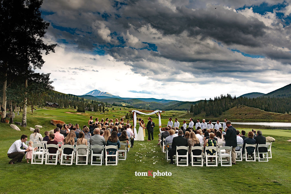 Keystone Wedding Planner - Keystone Ranch Wedding - Wedding Ceremony