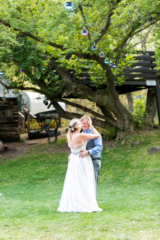 Colorado Wedding Planner - Colorado Wedding Couple First Dance