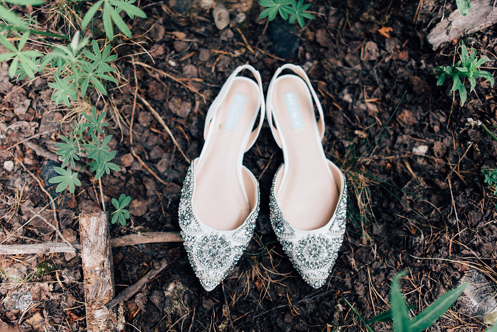 Breckenridge Wedding, Wedding Shoes, Ten Mile Station Wedding