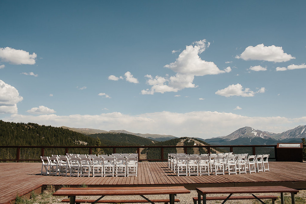 Colorado Wedding Planner - Keytop Overlook Ceremony