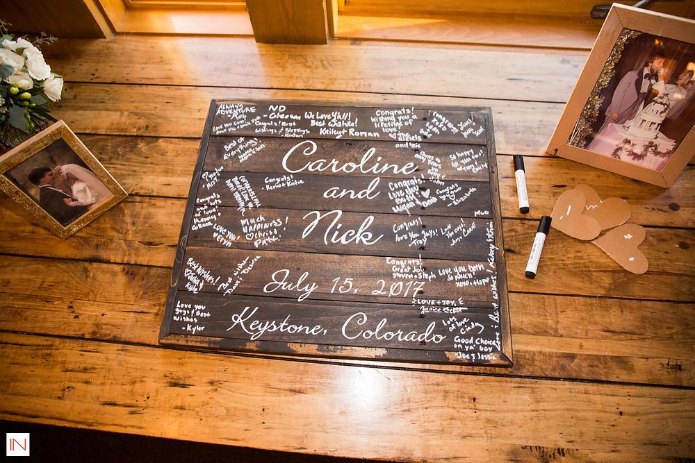 Keystone Wedding Guest Book