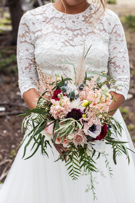 Keystone Wedding, Bridal Bouquet, Ski Tip Lodge Wedding