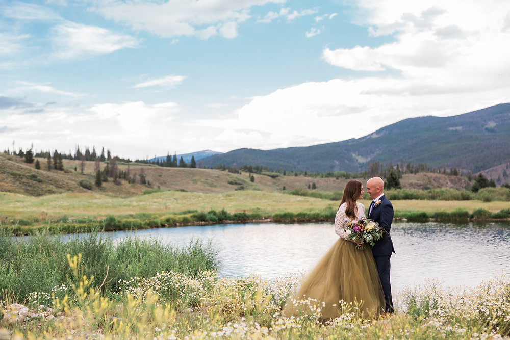 Breckenridge Wedding Planner - Sapphire Point Wedding
