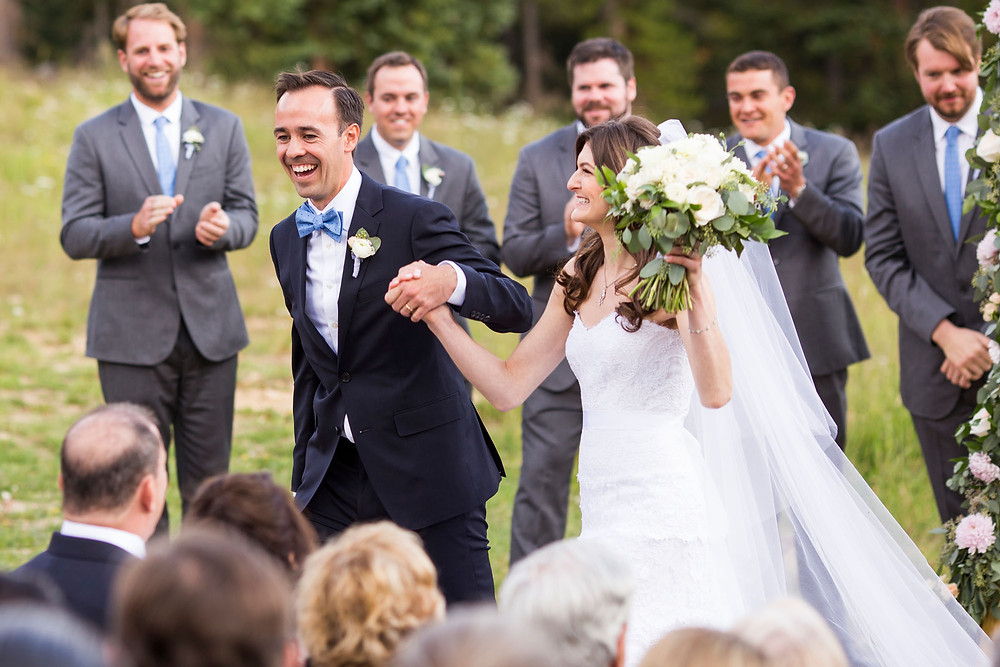 Colorado Wedding - Wedding Couple - Wedding Ceremony