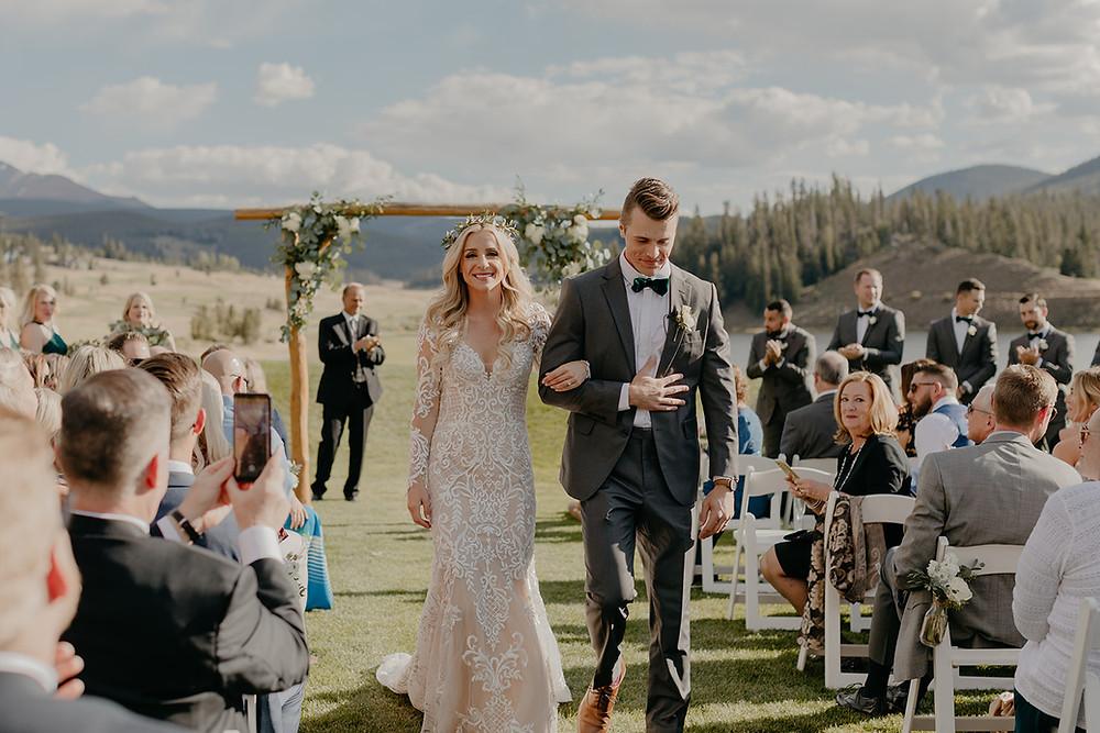 Keystone Wedding - Keystone Ranch Wedding - Just Married