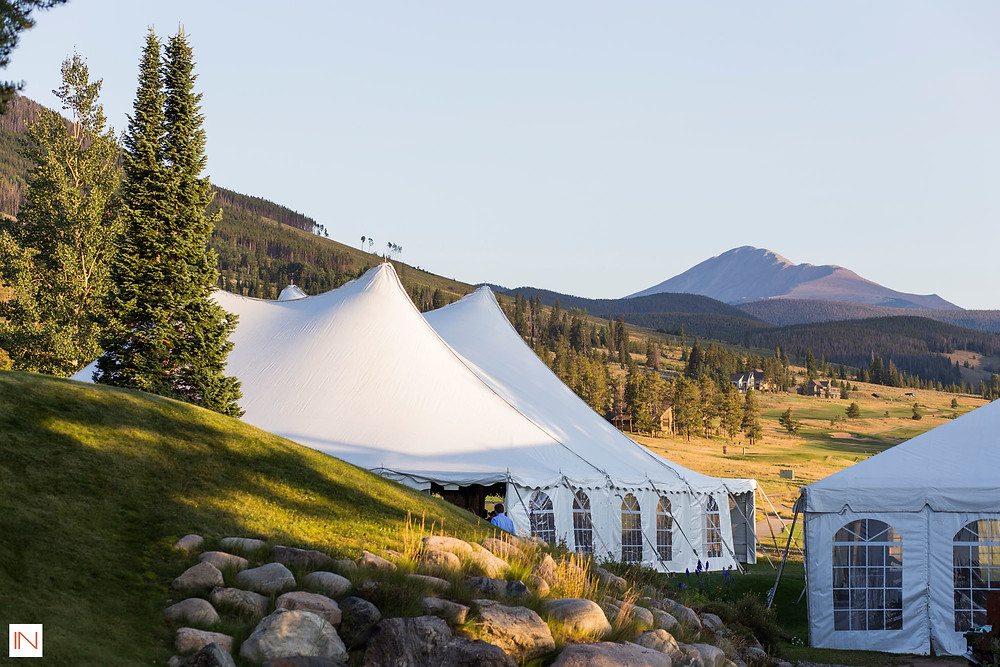 Keystone Wedding - Keystone Ranch Wedding - Wedding Tent