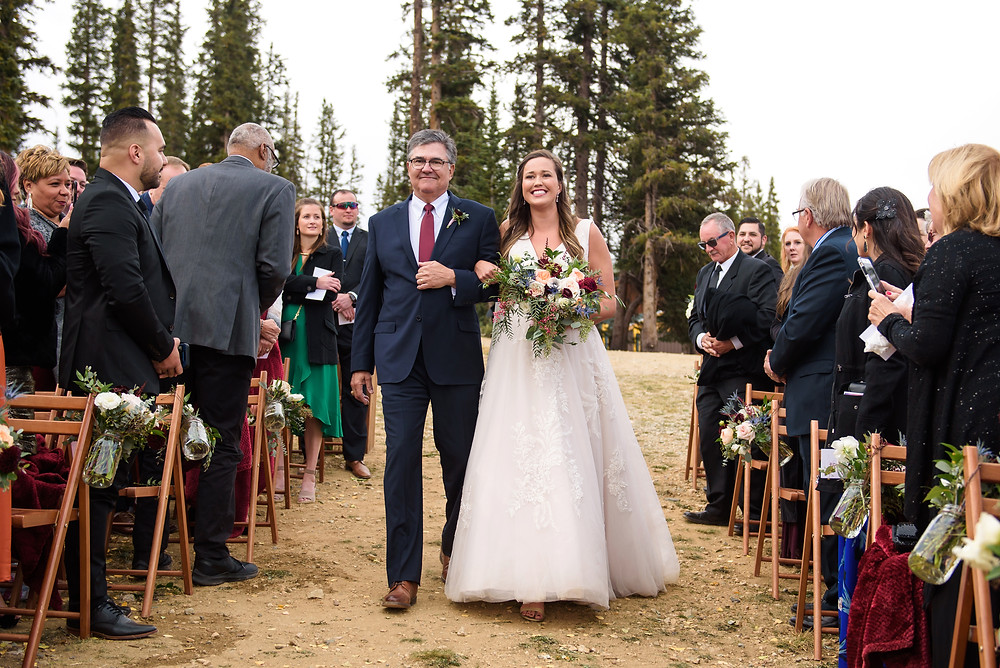 Keystone Wedding Ceremony, Timber Ridge Wedding