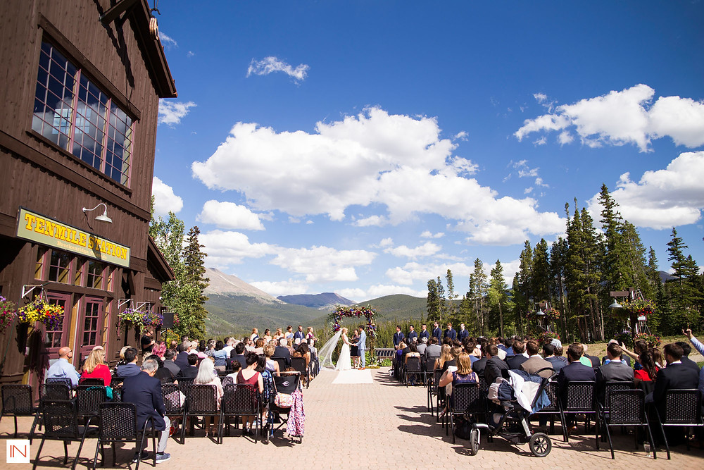 Breckenridge Wedding Planner - Ten Mile Station - Wedding Ceremony