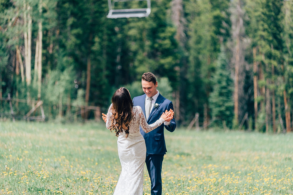Breckenridge Wedding, First Look