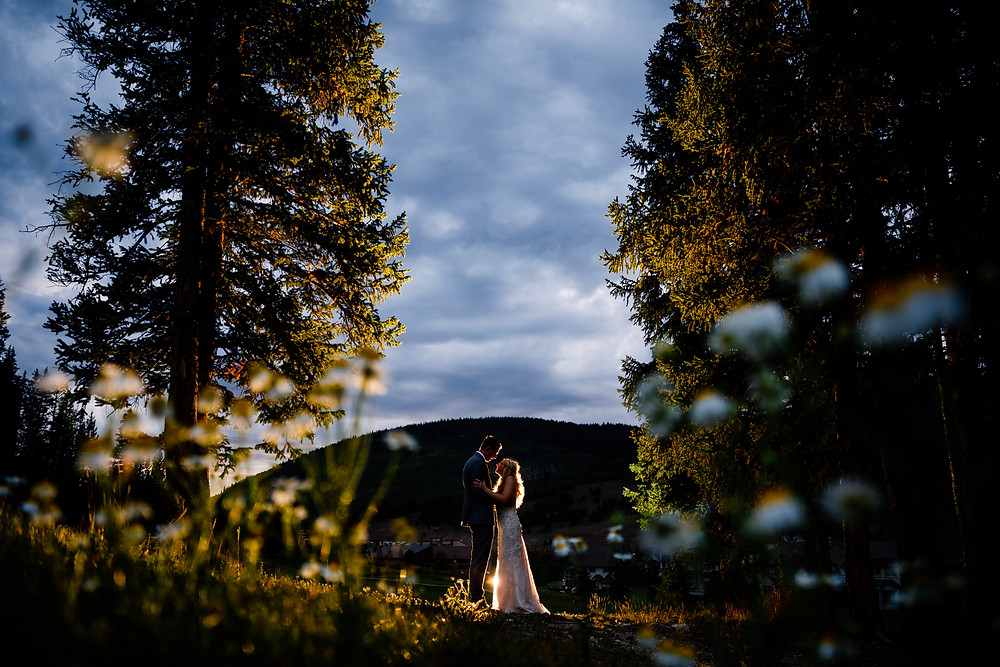 Copper Mountain Wedding Planner - Bride and Groom