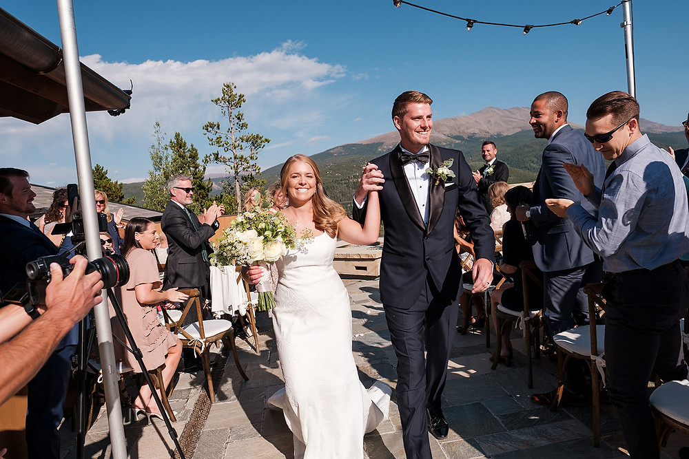Breckenridge Wedding Planner - Chateau of Breckenridge Wedding - Just Married