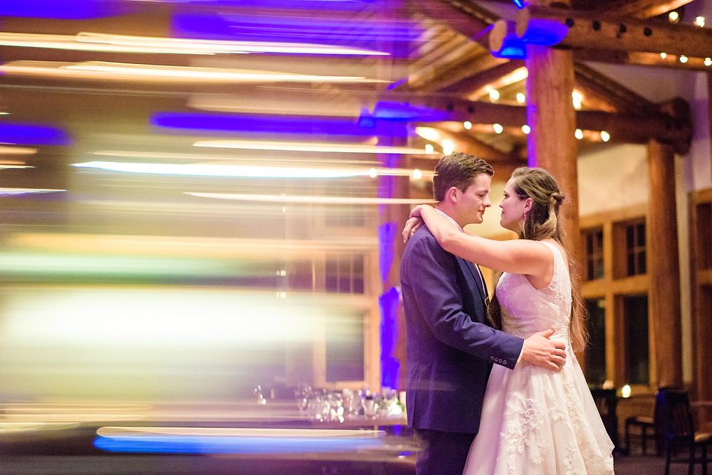 Keystone Wedding Couple, First Dance, Timber Ridge Wedding