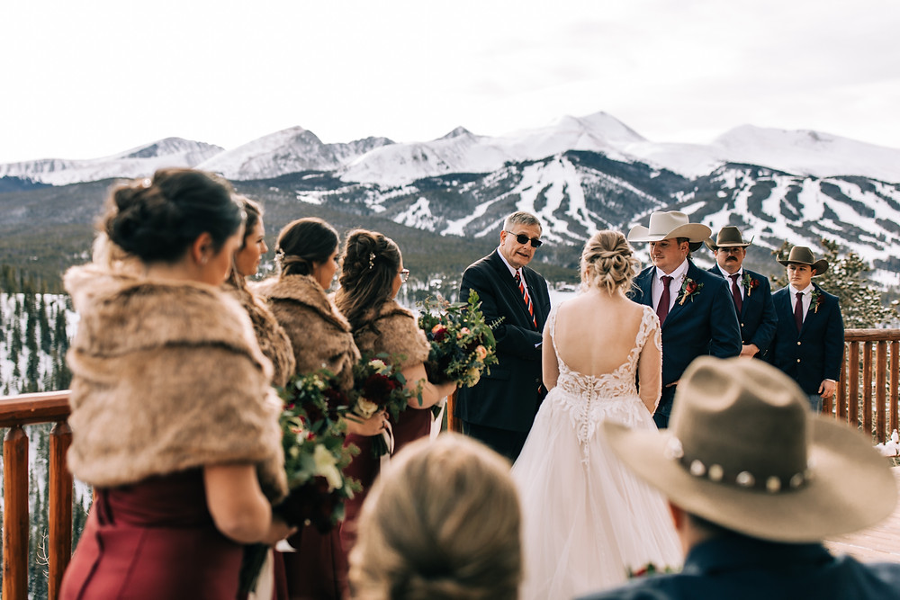 The Lodge at Breckenridge Wedding  - Breckenridge Wedding - Wedding Ceremony