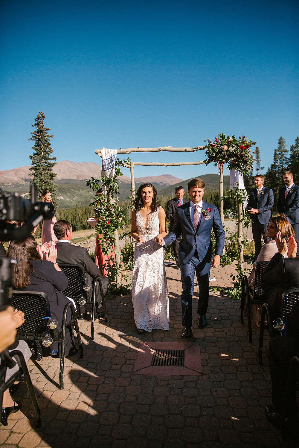 Breckenridge Wedding Planner - Ten Mile Station Wedding - Just Married