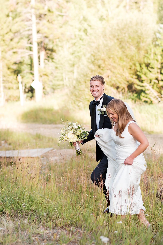 Breckenridge Wedding Planner - Chateau of Breckenridge Wedding - Bride and Groom