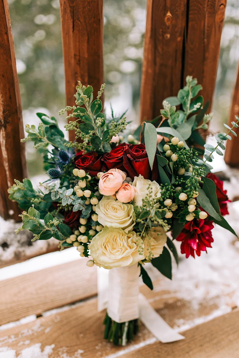 The Lodge at Breckenridge Wedding; Wedding Bouquet