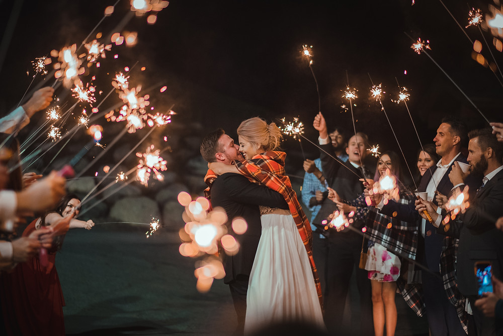 Keystone Wedding Planner - Grand Exit