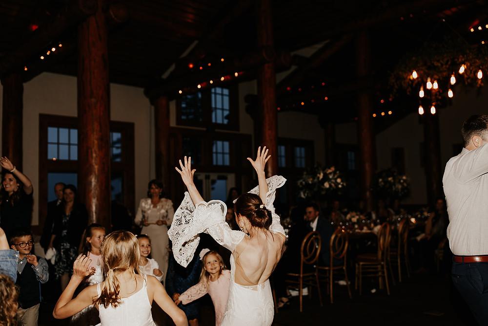 Keystone Wedding Planner - Timber Ridge Wedding - Bride Dancing