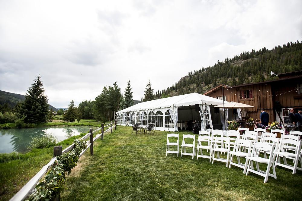 Ski Tip Lodge Wedding Ceremony, Ski Tip Lodge Wedding