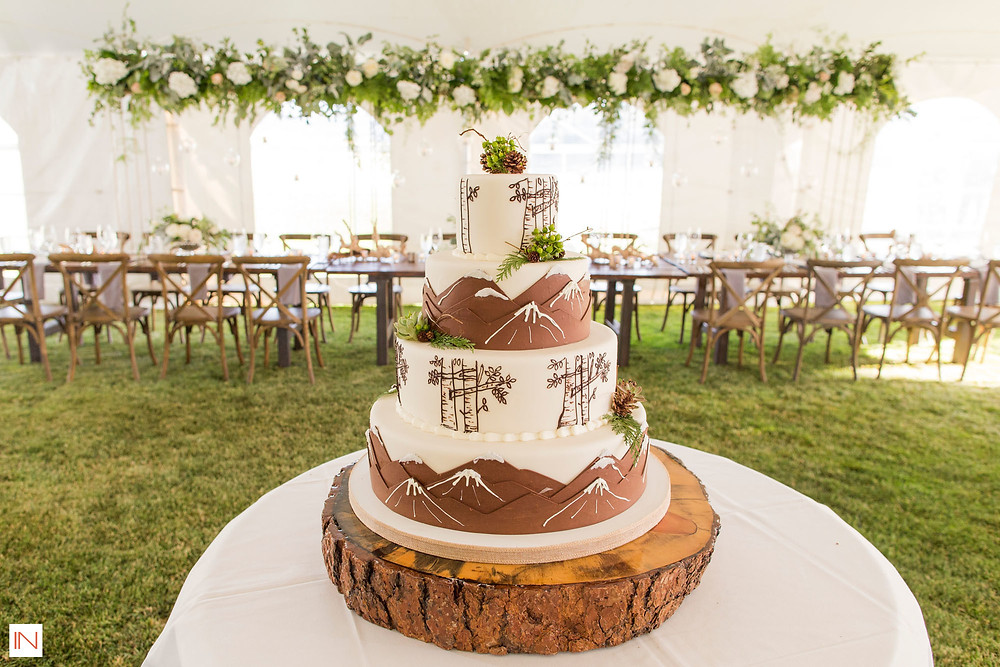 Keystone Wedding - Keystone Ranch Wedding - Wedding Cake