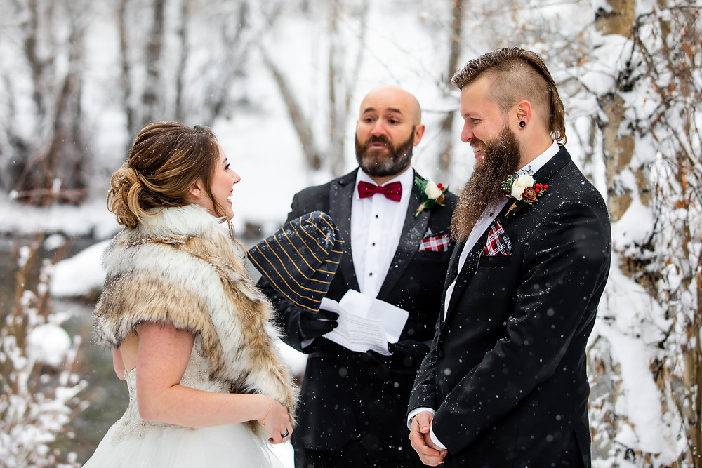 Silverthorne Wedding Planner - Colorado Winter Wedding - Wedding Ceremony