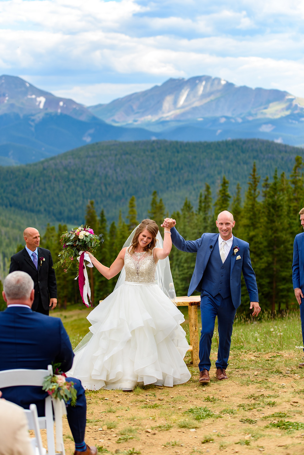 Keystone Wedding Planner - Timber Ridge Wedding - Just Married