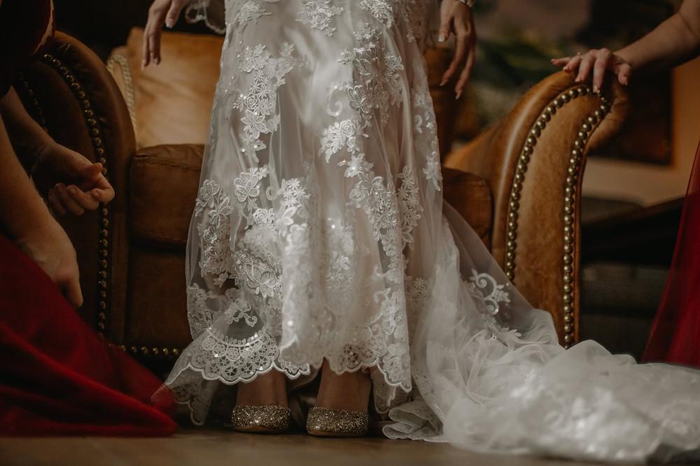 Breckenridge Wedding - Breckenridge Winter Wedding - The Lodge at Breckenridge Wedding - Bride