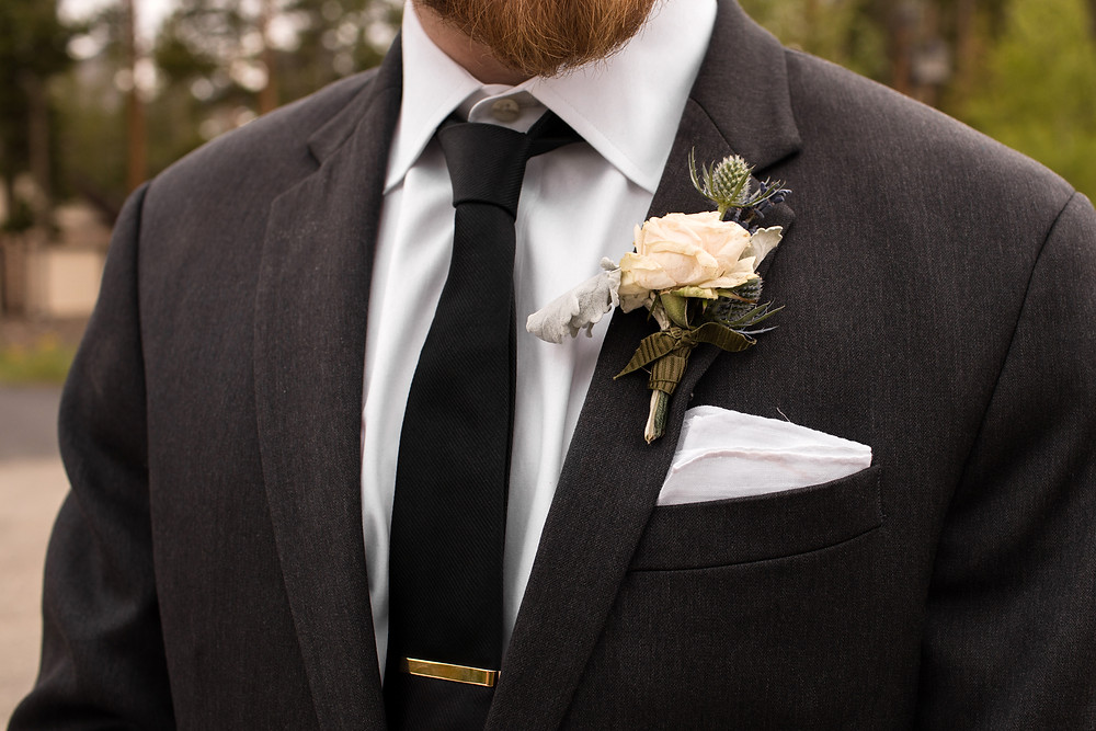 The Lodge at Breckenridge Wedding - Groom - Breckenridge Wedding Planner