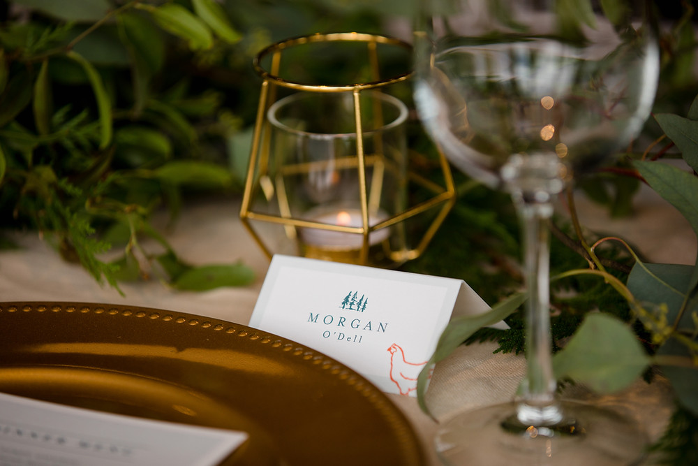 Breckenridge Wedding Planner - Ten Mile Station Wedding - Place Setting