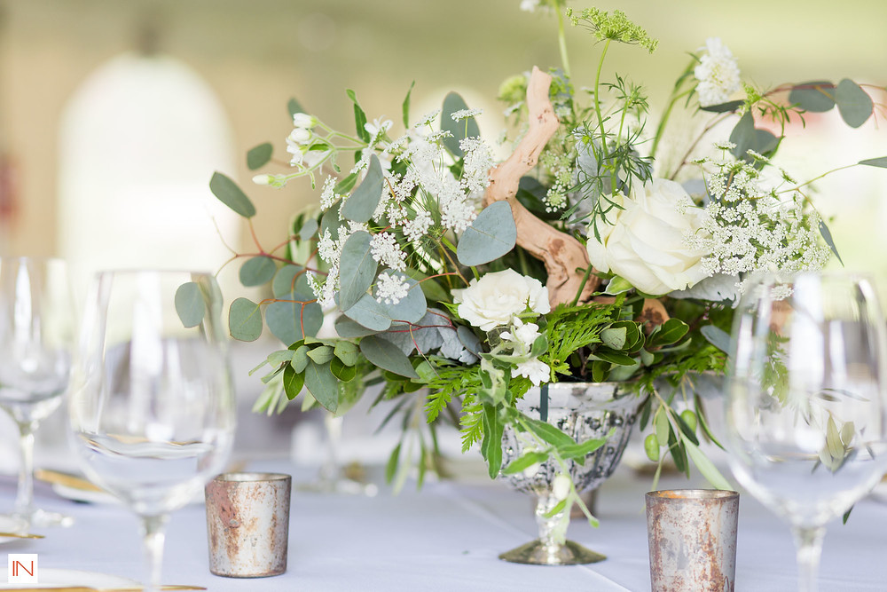 Keystone Wedding - Keystone Ranch Wedding - Centerpiece