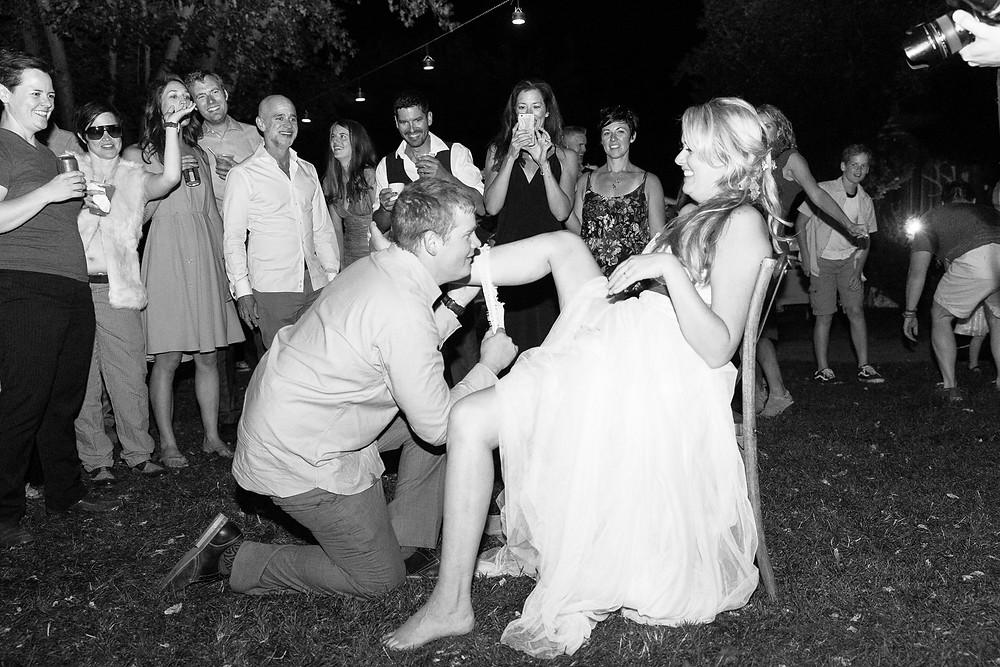 Colorado Wedding Planner - Colorado Wedding Garter