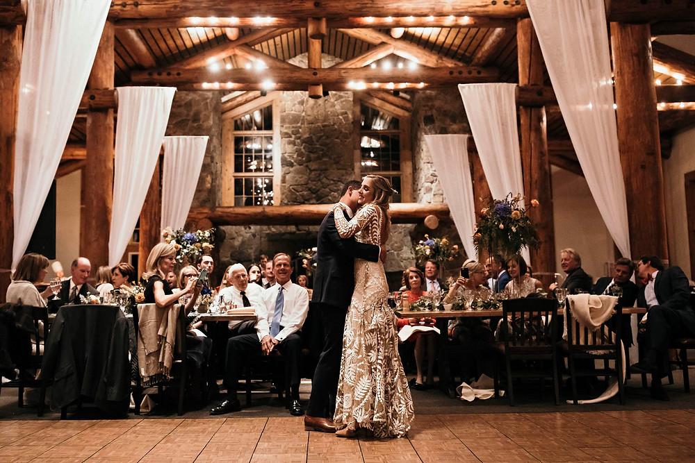 Keystone Wedding Planner - Timber Ridge Wedding - First Dance