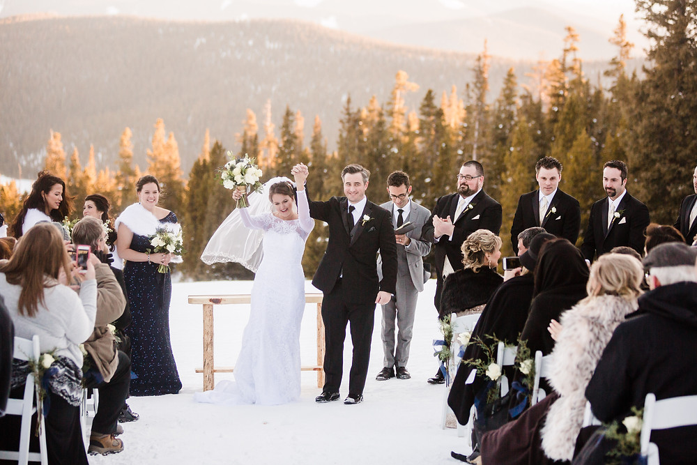 Alpenglow Stube Wedding - Colorado Winter Wedding - Keystone Wedding