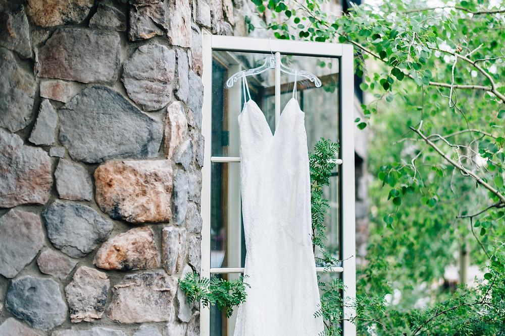 Keystone Wedding Planner - Timber Ridge Wedding - Wedding Dress