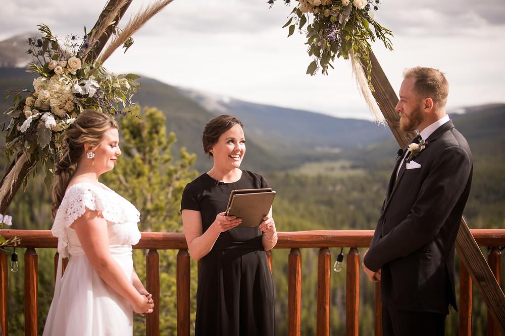 The Lodge at Breckenridge Wedding - Colorado Wedding - Wedding Ceremony