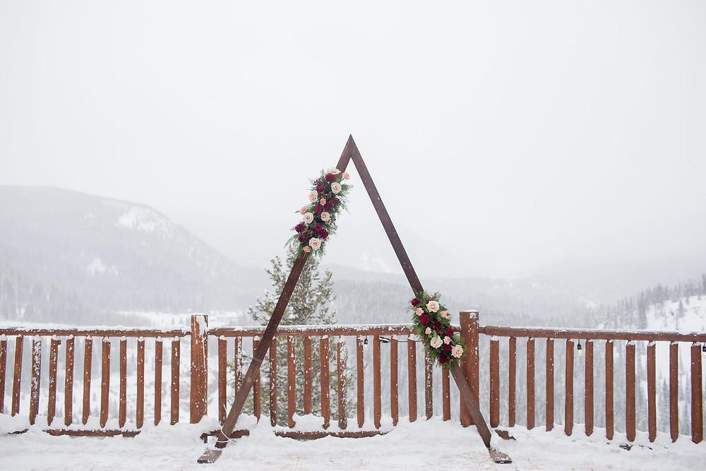 Breckenridge Wedding Planner - The Lodge at Breckenridge Wedding - Wedding Arch