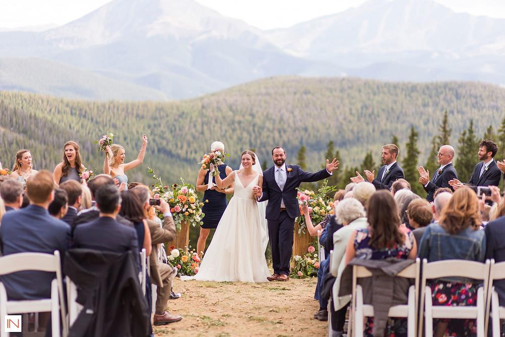 Keystone Wedding Planner - Timber Ridge Wedding - Just Married