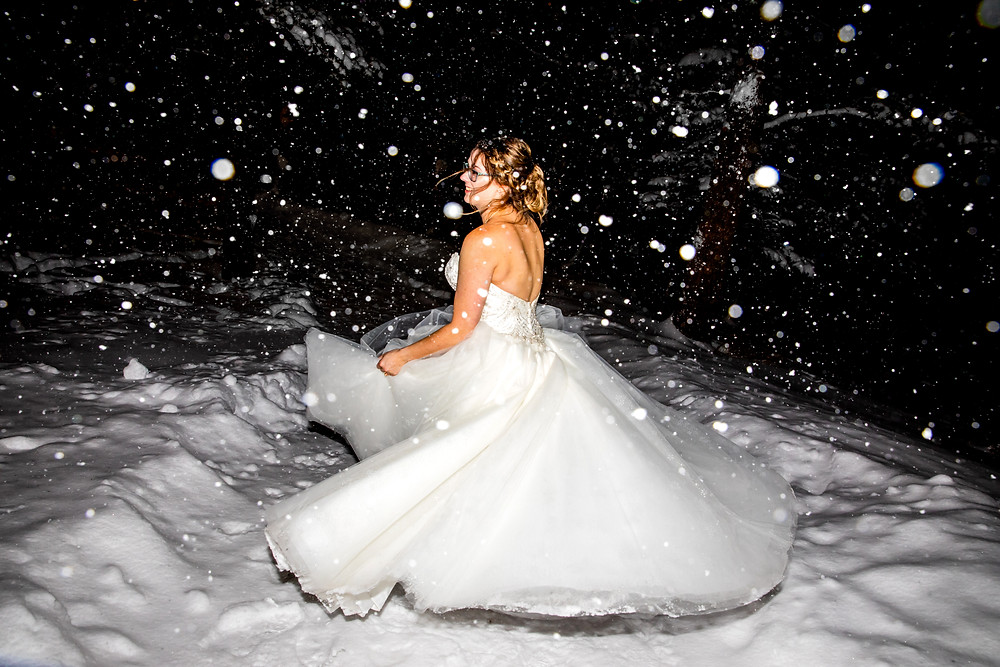 Silverthorne Pavilion Wedding - Winter Wedding