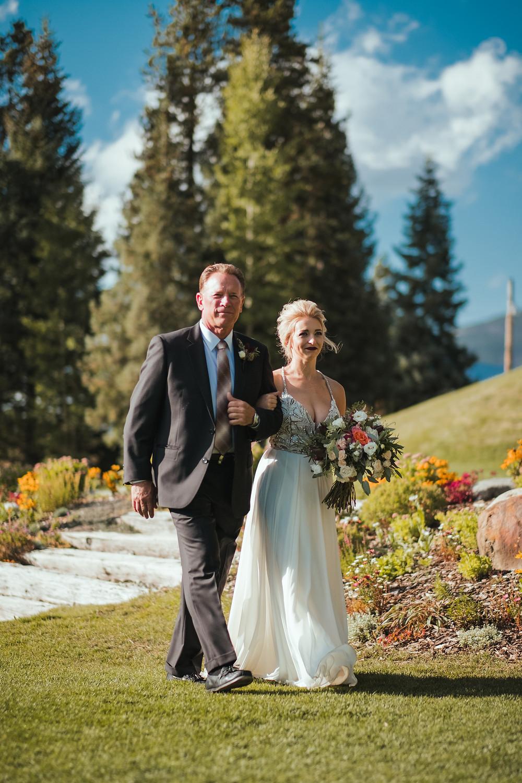 Keystone Wedding Planner - Bride and father