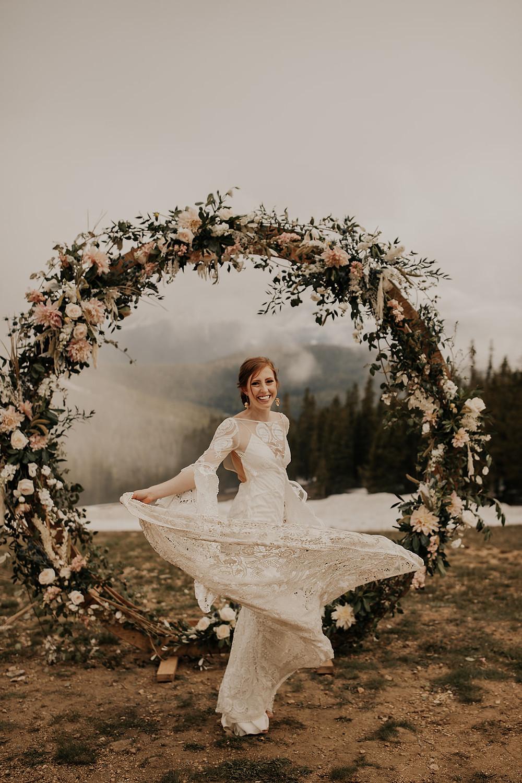 Keystone Wedding Planner - Timber Ridge Wedding - Bride