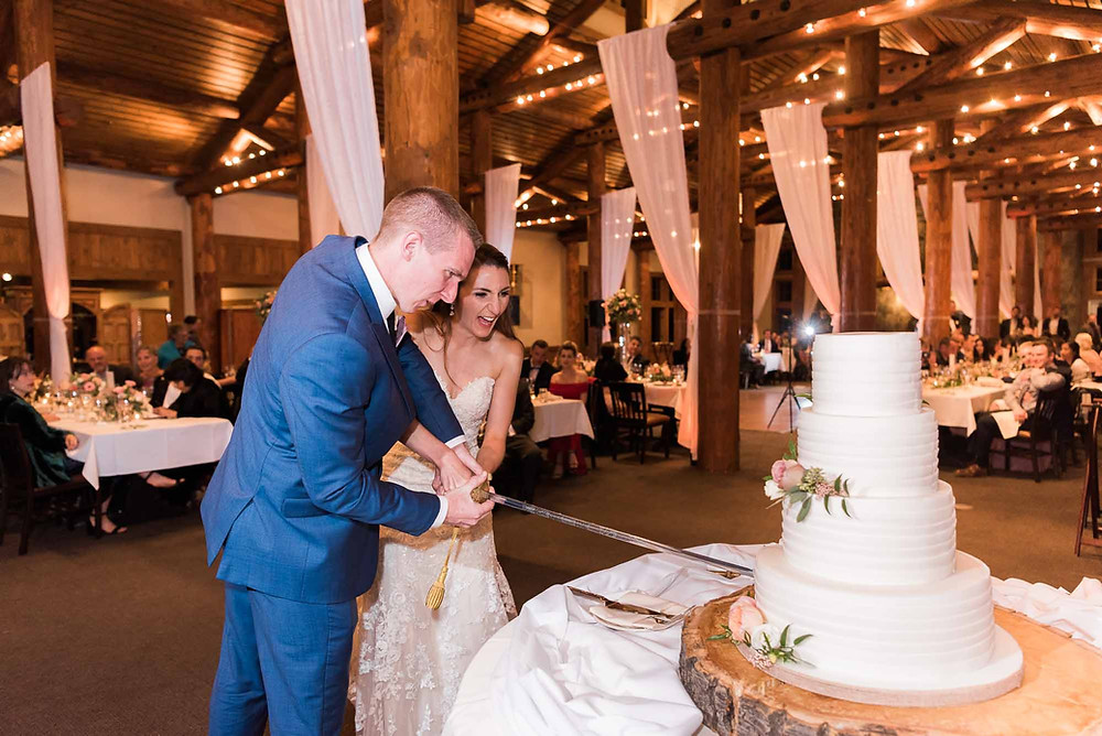 Keystone Wedding - Timber Ridge Wedding - Bride and Groom