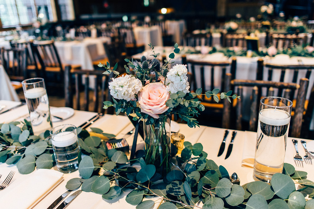Breckenridge Wedding Centerpiece