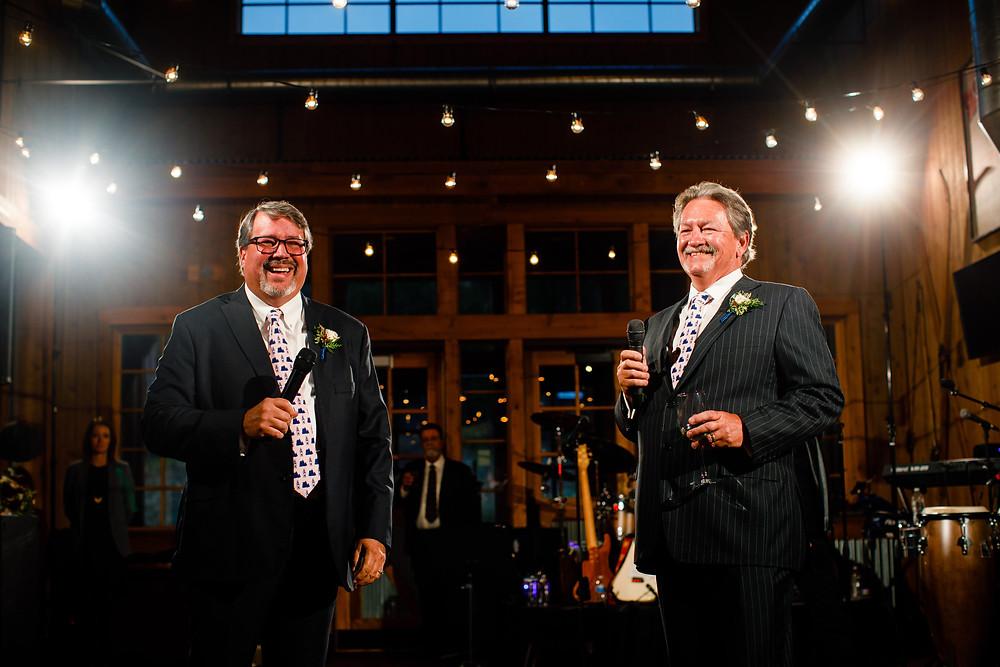Breckenridge Wedding Planner - Father Welcome Toast