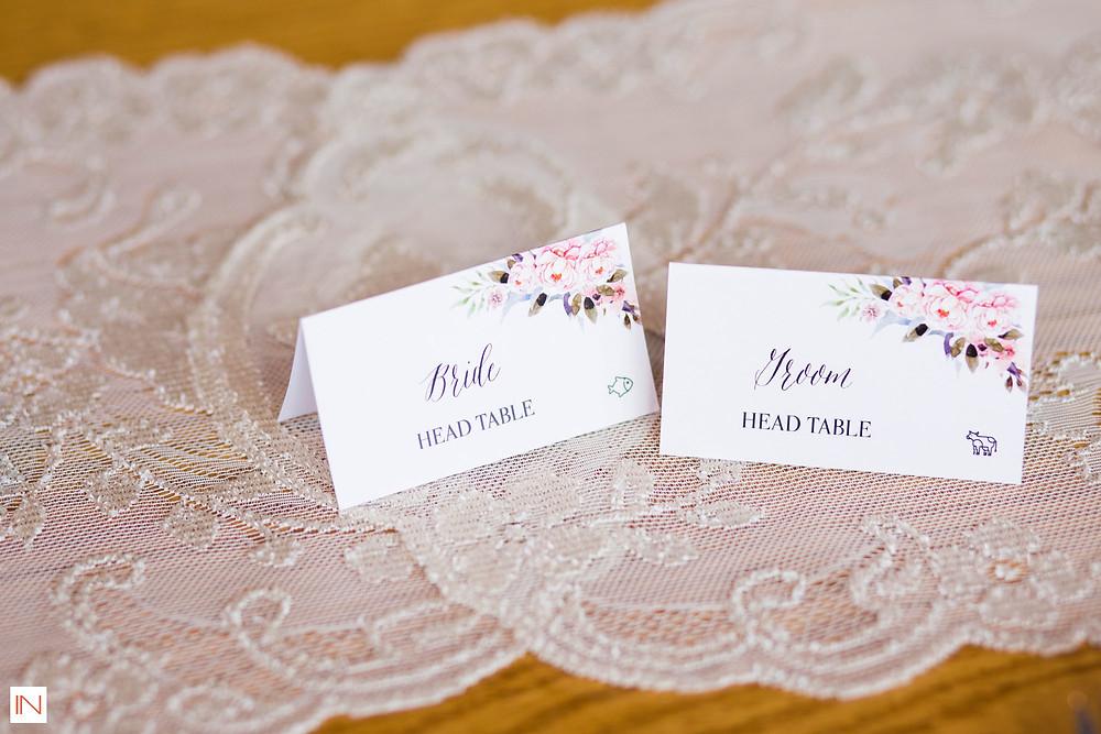 Breckenridge Wedding Planner - Escort Cards